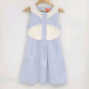 Linen Blend Pastel Spring Summer Dress